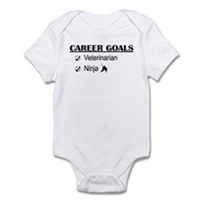Veterinarian Career Goals Infant Bodysuit