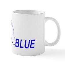 Cute Blue terrier Mug