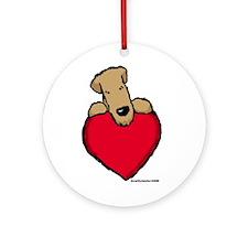 SCWT heart Ornament (Round)