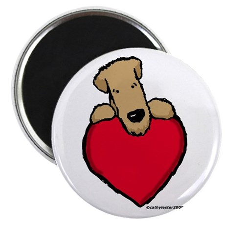 "SCWT heart 2.25"" Magnet (10 pack)"