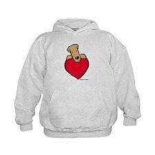 SCWT heart Hoodie