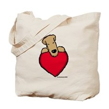 SCWT heart Tote Bag