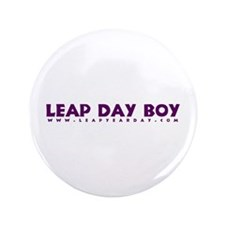 "Leap Day Boy 3.5"" Button"