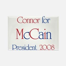 Connor for McCain 2008 Rectangle Magnet