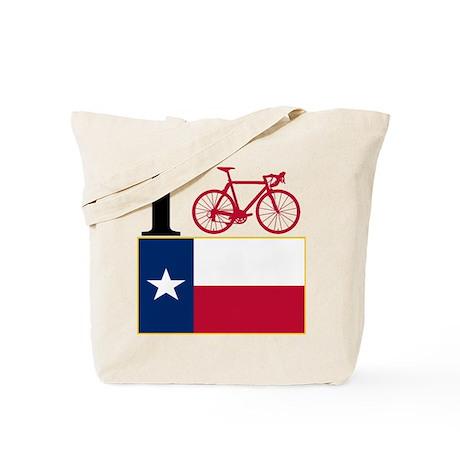I BIKE Texas! Tote Bag