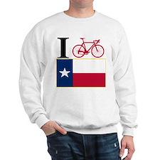 I BIKE Texas! Sweatshirt