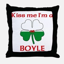 Boyle Family Throw Pillow