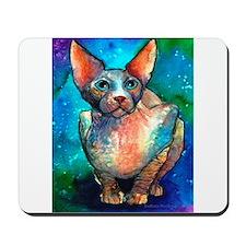 Sphynx cat #1 Mousepad