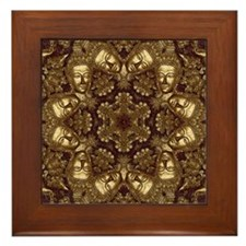 Golden Mai Framed Tile