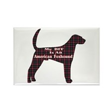 BFF American Foxhound Rectangle Magnet (10 pack)