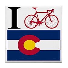 I BIKE Colorado Tile Coaster