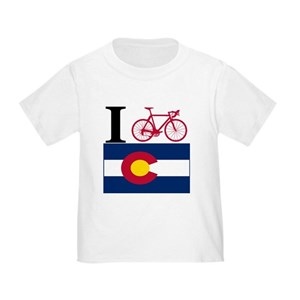 Bike Colorado T-shirt I BIKE Colorado T