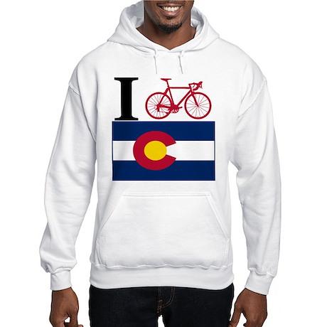 I BIKE Colorado Hooded Sweatshirt