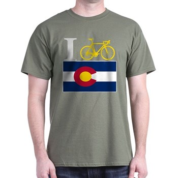 Bike Colorado T-shirt I BIKE Colorado T Shirt