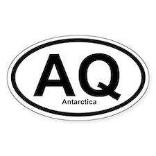 AQ Antarctica Oval Decal