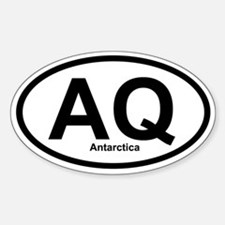 AQ Antarctica Oval Decal