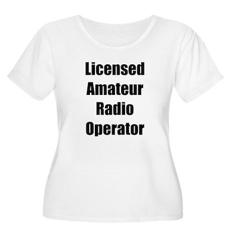 Licensed Radio Operator Women's Plus Size Scoop Ne