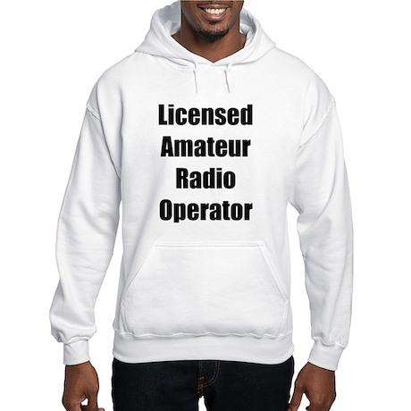 Licensed Radio Operator Hooded Sweatshirt
