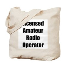 Licensed Radio Operator Tote Bag