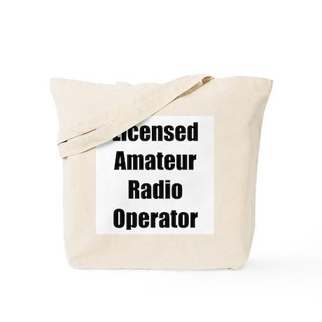 Licensed Radio Operator Tote Bag