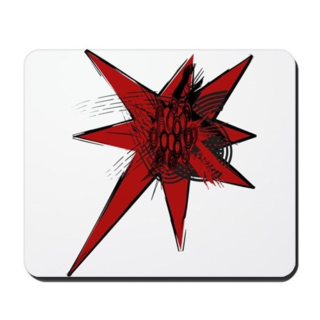 Red Riot Mousepad
