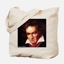 """Faces """"Beethoven"""" Tote Bag"""