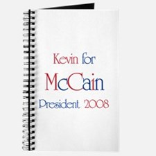 Kevin for McCain 2008 Journal