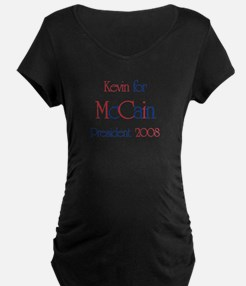 Kevin for McCain 2008 T-Shirt