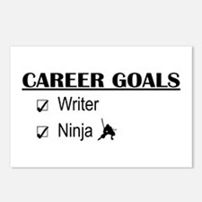 Writer Career Goals Postcards (Package of 8)
