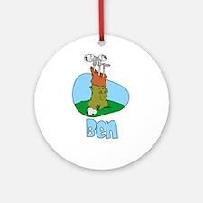 Ben Ornament (Round)