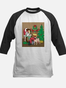 Santa's Pugs Christmas Tee
