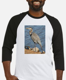 great blue heron durham 122305.JPG Baseball Jersey