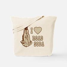 I Love Road Soda Tote Bag