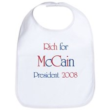 Rich for McCain 2008 Bib