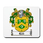 Hall Family Crest Mousepad
