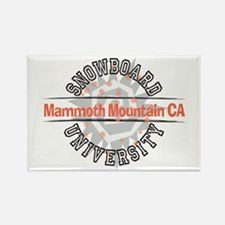 Snowboard Mammoth Mt. CA Rectangle Magnet