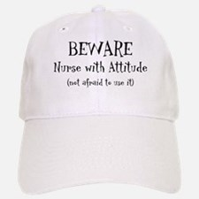 Nurse With Attitude Baseball Baseball Cap