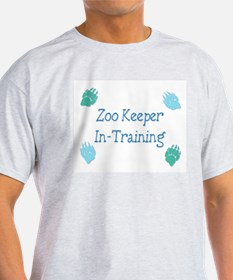 Zoo Keeper In Training Blue T-Shirt