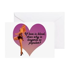 Pin-Up Valentine Greeting Card