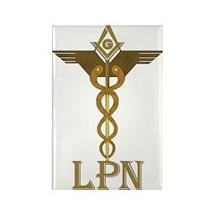 Masonic LPN Symbol Rectangle Magnet (100 pack)