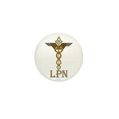Masonic LPN Symbol Mini Button (10 pack)