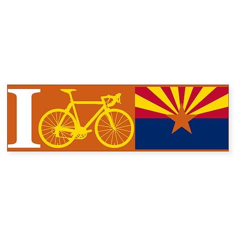 I BIKE Arizona Bumper Sticker