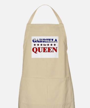 GABRIELA for queen BBQ Apron