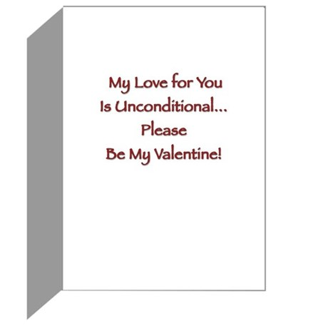 shadow-poodle-heart Greeting Cards
