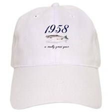 1958, 50th birthday Baseball Cap