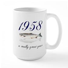 1958, 50th birthday Mug