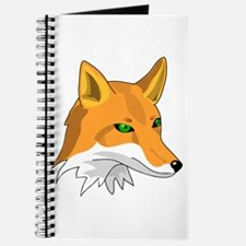 Kitsune (Red Fox) with Green Journal