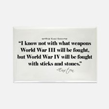 War Quote Rectangle Magnet