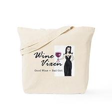 Cute Fun wine glasses for women Tote Bag