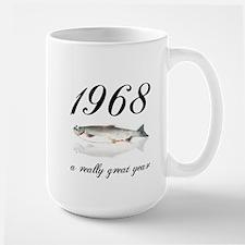 1968, 40th Birthday Mug